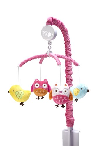 Nojo Love Birds Musical Mobile (Bird Baby Mobile compare prices)