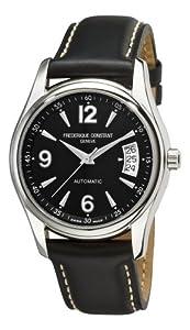 Frederique Constant Men's FC-303B4B26 Junior Black Dial Watch