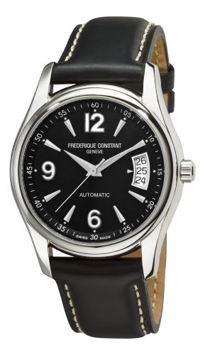 Frederique Constant Men's FC-303B4B26 Junior Black Dial Watch image
