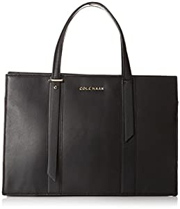 Cole Haan Vestry Satchel,Black,One Size