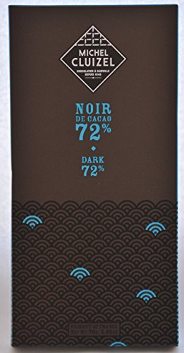 Michel Cluizel Chocolate Bar - Noir 72% (70 gram)
