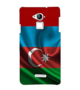 printtech Country Flag Back Case Cover for Coolpad Note 3