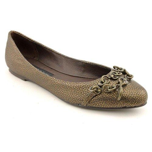 Calvin Klein Jeans Rhiah Flats Shoes Bronze Womens UK 4