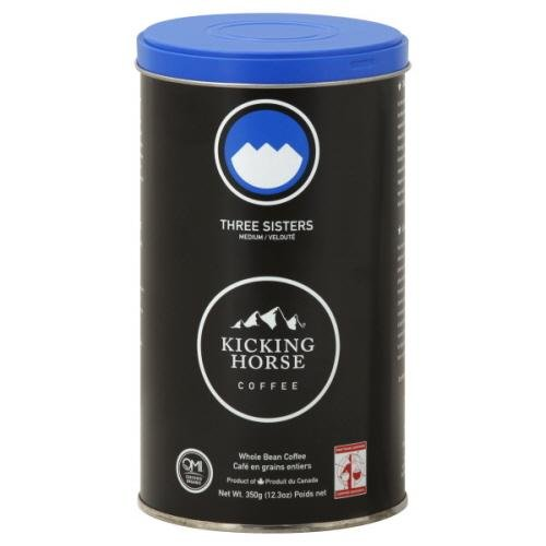 Kicking Horse Coffee Coffee 3Sisters Med Org 12.3 OZ (Pack of 6)