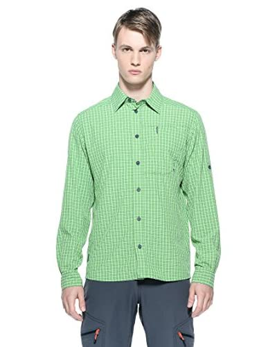 Berghaus Camicia Lawrence Shirt Ls Am Grn/Grn Ss14 [Verde]