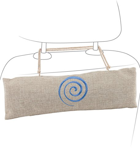Car Air Freshener - Bamboo Charcoal Air Purifying Bag by Osmose - Absorbs and Eliminates Odor - Fragrance and Chemical Free (Car Air Freshener Organic compare prices)