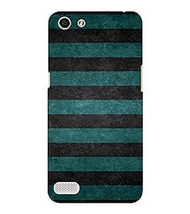 EPICCASE Blue wave pattern Mobile Back Case Cover For OPPO Neo 7 (Designer Case)