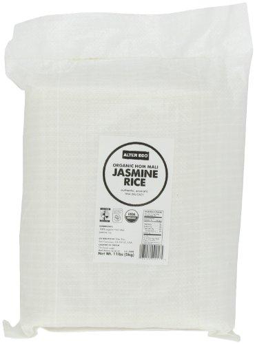 Alter Eco Organic Hom Mali Jasmine Rice, 11 lbs bulk bag