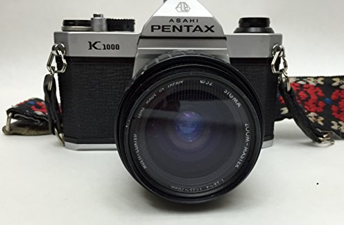 Pentax Asahi K1000 SLR 35mm Film Camera with Lens Combo (35 Mm Camera Film compare prices)