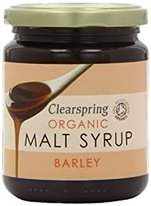 Clearspring Organic Barley Malt Syrup 330 g (Pack of 3)