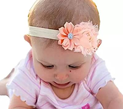 Baby Girl Headbands, EveShine Elastic Hair Bow Hair Bands for Newborn,Toddler and Kids