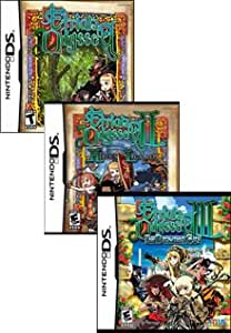 Etrian Odyssey Trilogy Pack (Includes Part 1,2,3) - USA Versions - Region Free