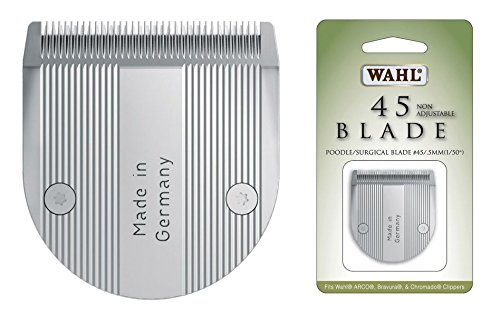 Wahl Replacement Clipper Blade - Size # 45 - Extra Life ! (Wahl Chromado Replacement Blade compare prices)