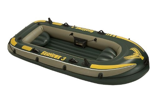 Intex Seahawk 3 Boat - three man inflatable dinghy #68349