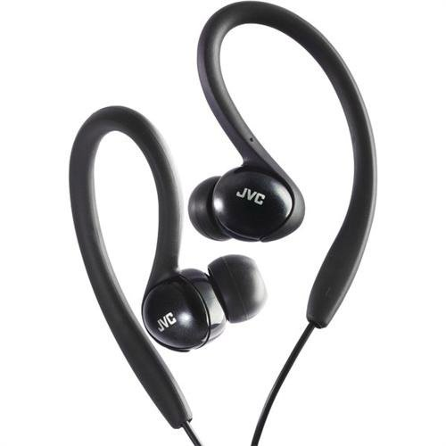 JVC HAEBX5B Sport Clip Headphone, Black (046838044106)