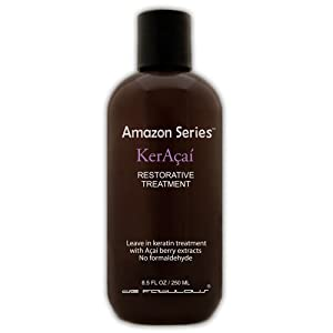 de Fabulous Amazon Series KerAcai Restorative Leave-in Keratin Treatment, 8.5 fl. oz.