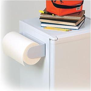 magnetic paper holder for fridge