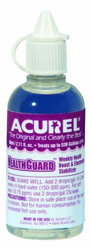 Imagen de Acurel LLC Healthguard 50 ml acuario y estanque agua tratamiento trata, 500 galones