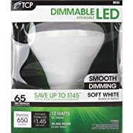 TCP BR30 Dimmable LED Floodlight Light Bulb-12W BR30 LED 27K BULB