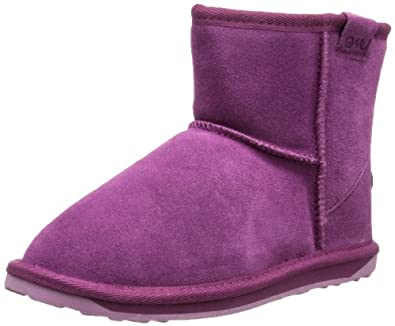 Emu Wallaby Mini, Mädchen Kurzschaft Stiefel, Violett (Purple), 24 EU (7 Kinder UK)