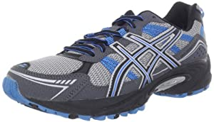 ASICS Men's GEL-Venture 4 Running Shoe,Charcoal/Carbon/Blue,10.5 M US