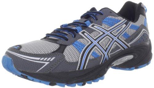 Asics Men'S Gel-Venture 4 Running Shoe,Charcoal/Carbon/Blue,10 M Us