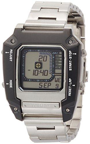 [ワイアード]WIRED 腕時計 WIRED ×METAL GEAR SOLID V:THE PHANTOM PAIN メタルギアソリッド コラボレーションウオッチ<デジボーグ>  クオーツ ハードレックス 日常生活用強化防水(10気圧) AGAM601 メンズ
