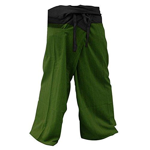 2 TONE Thai Fisherman Pants Yoga Trousers FREE SIZE Plus Size Cotton. (Wrangler Rear Cargo Rack compare prices)