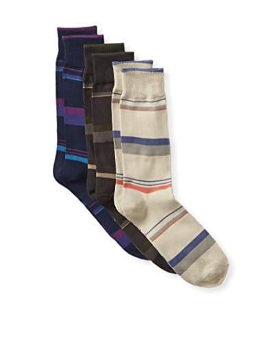 Florsheim Men's W101UU3 Dress Socks- 3 Pack