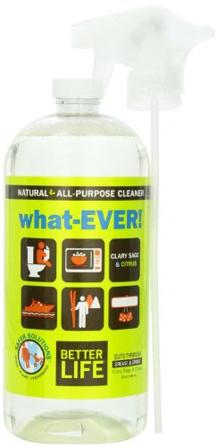 Better Life All-Purpose Cleaner, Clary Sage & Citrus, 32 Ounces