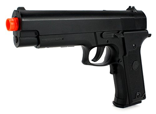 Special Ops 2024B Electric Blowback Airsoft Pistol Full & Semi Automatic Aep Fps-180 W/ Realistic Blowback Action, Integrated Hop Up