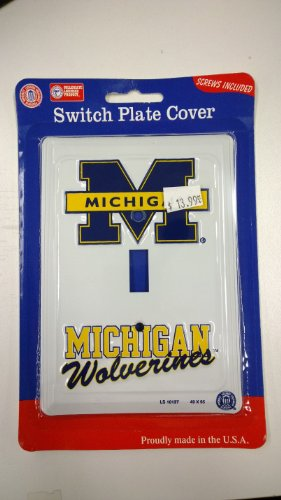 Michigan Wolverines Light Switch Cover