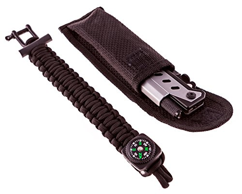 Paragon Crafts Multipurpose Survivalist Knife and Bracelet Is Vital in