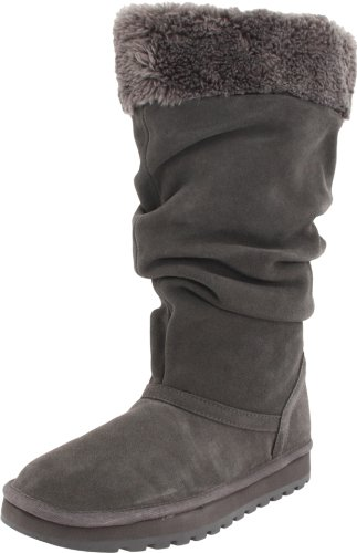 Skechers Keepsakes Lucky One Womens Winter Boots Charcoal 11