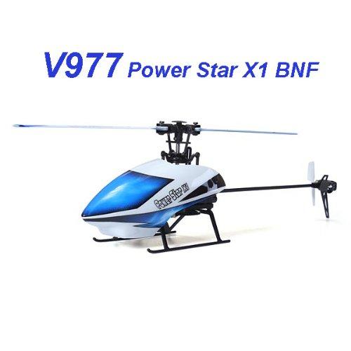 Bluelover WLtoys V977 Power-Sterne X1 6CH 2,4 G Brushless RC Hubschrauber BNF