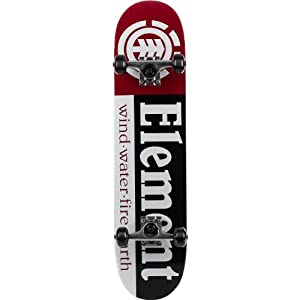 Buy Element Thriftwood Section Black Complete Skateboard - 7.5 x 31.5 by Element