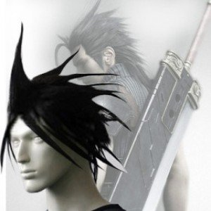 Japan Anime Final Fantasy Zack Fair Cosplay Wig