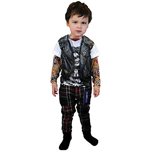 Tattoo Long Sleeve Youth Costume