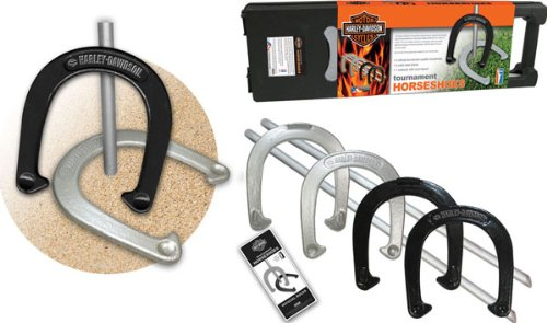 Harley-Davidson 66202 Tournament Horseshoe Set