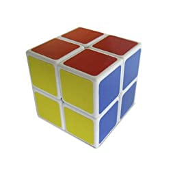[Best price] Puzzles - LanLan 2x2x2 Speed Cube White - toys-games