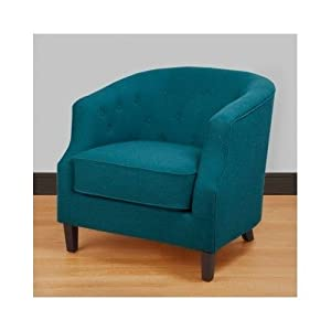 lovely pictures of blue club chair