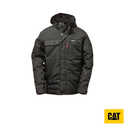 Caterpillar Insulated Twill Parka Mens Jacket