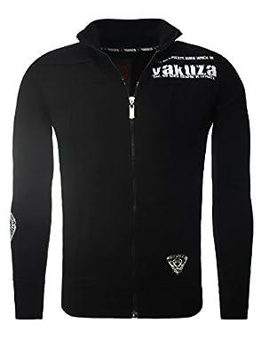 Pullover Yakuza Sweatjacke Herren Kapuzenjacke