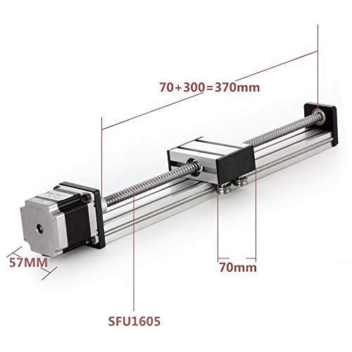 Discover Bargain 300mm Travel Length Linear Stage Actuator DIY CNC Router Parts X Y Z Linear Rail Gu...