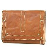 [ダコタ] Dakota 二つ折り財布 0032120 (0032100) ディンプルシリーズ ブラウン DA-32100-40