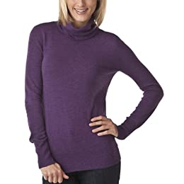 Product Image Mossimo® Women's Ultrasoft Turtleneck Sweater - Heather Purple
