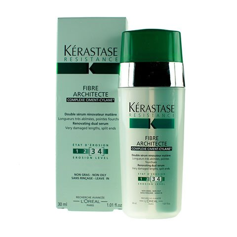 Kerastase Resistance Fibre Architecte Renovating Dual Serum for Unisex, 1.01 Ounce