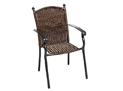 Merxx 2er Set Roma Stapelsessel von Merxx - Gartenmöbel von Du und Dein Garten