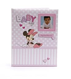 Disney Minnie Mouse Baby Girl Keepsake Record Memory Book by CR Gibson