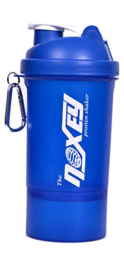 Noxey Single Container Shaker 500 Ml Bottle Blue